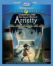 The Secret World of Arrietty (Bluray+DVD, 2012, 2Disc) New!  >>Free Shipping>>>