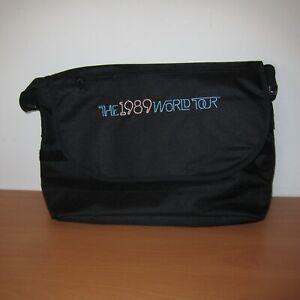 Taylor Swift 1989 World Tour Black Messenger Shoulder Bag
