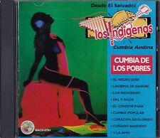 Los Indigenas Cumbia Andina Cumbia de Los Pobres CD New Nuevo