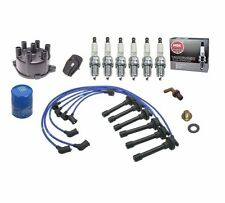 OEA Tune-Up Kit Cap Rotor NGK Wires-Spark Plug 98-99 Honda Accord V6 3.0L
