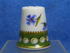 Dé à coudre de collection en porcelaine Limoges