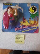 VINTAGE 1989 TM & ENTERTECH - WAVE WARRIORS  WATER GUN T&C SURF DESIGNS