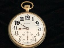 Illinois Bunn Special 21J Railroad Grade Pocket Watch.