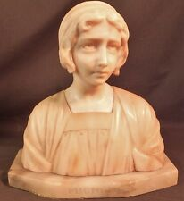 Antique ITALIAN marble Classic lady Bust sculpture 'MIGNON' 1890 ESTATE FRESH