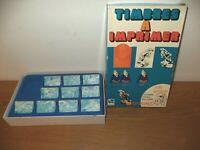 Ancien jeu Dargaud 1974 Lucky Luke de Morris Timbre a imprimer