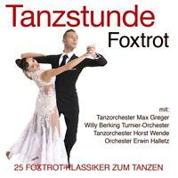 TANZSTUNDE-FOXTROT, Max Greger,Willi Berking,Horst Wende  CD NEU