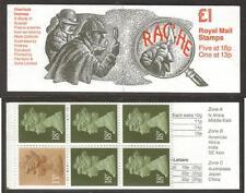 GB 1987 FH8 SHERLOCK HOLMES SERIES - A STUDY IN SCARLET £1.00 FOLDED BOOKLET
