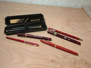 LOT coffret stylo Pierre Cardin, stylo Waterman, autres ( G)