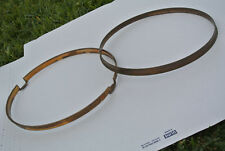 RARE SET of 20s/30s Ludwig & Ludwig HOOPS for YOUR BLACK BEAUTY SNARE DRUM #A882