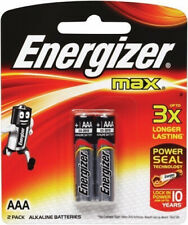 Energizer MAX AAA 2 Pack Batteries