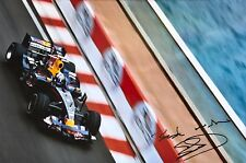 David Coulthard Firmato a Mano RED BULL RACING 18x12 foto 4.