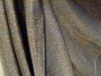 COUPON TISSU HAUTE COUTURE 1324 satin soie 100 % poids robe tunique 3.00 m
