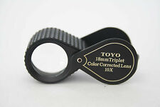 gem tools achromatic jeweler's loupejewelry supply diamond loupe magnifier tool