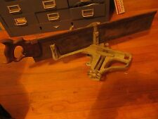 Vintage H.G. Marsh Rockford Miter Saw  Frame Woodworking  Saw Guide and Saw