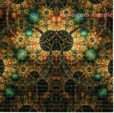 MAP Of The UNIVERSE Fractal BLOTTER ART perforated sheet paper psychedelic art