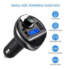 Trasmettitore Bluetooth FM, Trasmettitore Wireless FM Radio Per Auto Con USB 5V