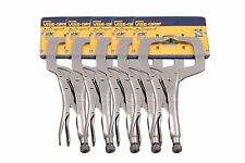 """Irwin Vise-Grip 11R The Original 11"""" Locking C-Clamps with Regular Tips (5 Pack)"""