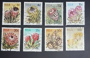 South Africa: Proteas & Succulents selection; fine used; flowers