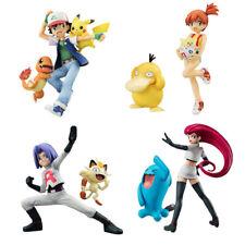12cm Pokemon Action Figures Ash Ketchum Misty Pikachu Psyduck Togepi Toys UK