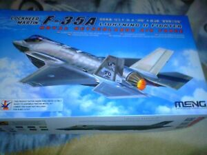 MENG 1/48 SCALE THE ROYAL NETHERLANDS LOCKHEED MARTIN F-35A LIGHTNING II FIGHTER