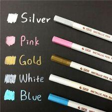 Blue Fluid Metallic Waterproof Guest Book Marker Pen