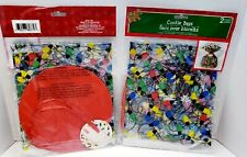 """New Christmas Cookie Bag Candy Package Christmas Lights C9 Set of 4 15.5"""" x 19"""""""