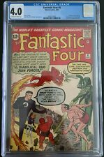 Fantastic Four #6 CGC 4.0 1st Super Villain Team-Up/ 2nd Dr Doom/SA Sub-Mariner