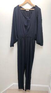 Lanvin Navy Blue Jumpsuit Fr40