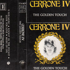 "K 7 AUDIO (TAPE)  CERRONE  ""CERRONE IV / THE GOLDEN TOUCH"""
