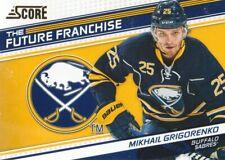 2013-14 Score Hockey Future Franchise #FF-7 Mikhail Grigorenko
