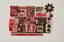 Chocolate Lover Chocoholic Chipboard Mini Book Album Kit (Scrapbook)