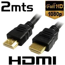 CABLE HDMI A HDMI 1.4 HD ALTA VELOCIDAD CON MALLA 2 METROS