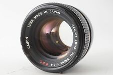【EXC+++】Canon FD 50mm F1.4 S.S.C ssc From Japan #1317