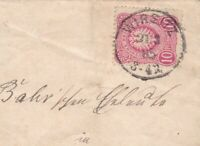 GERMAN 1885 ENTIRE LETTER , DOCUMENT , COVER