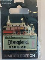 WDI Imagineering E Ticket Disneyland Railroad 1955 Train Disney Pin LE (B)
