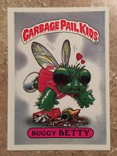 Garbage Pail Kids 1st Series Buggy Betty #11 CRAZY FACTORY ERROR GIANT! TWT
