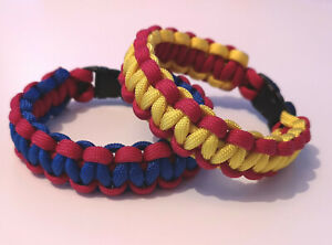 FC Barcelona Home or Away Supporters handmade paracord bracelet