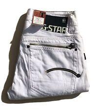 G-Star Raw ® 3301 Originals Mens ATTACC Denim Jeans - WHITE - UK W32 in./L32 in.
