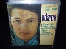 "ADAMO j'ai tant de reves ( world music ) 7""/45 picture sleeve ep"