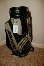 """MIZUNO ZOID 9"""" Cart Bag With Cloth Embroidered BAUDLER'S BOMBERS June 14, 1996"""