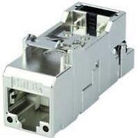 Telegartner Cat6a RJ11, RJ12, RJ45 Shielded Straight RJ Socket Modules & Blank A