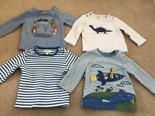 John Lewis Four Baby 0-3 Months long Sleeved Tops Bundle Excellent Condition