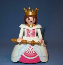 Playmobil Queen / Princess in White & Pink - Female Figure for Castle Palace