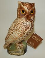 Vintage Jim Beam Screech Owl Regal China Whiskey Decanter