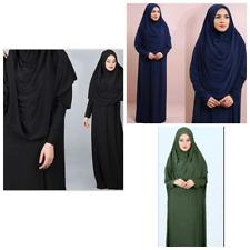 Damen Gebetskleid 3 Farben Abaya Muslim Langer Hijab Tesettür Namaz Elbisesi