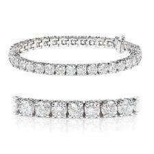 "Tennis Fine Diamond Bracelets Good 7.5 - 7.99"" Length"