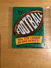 1974 Topps football wax pack (2 card fun pack mint.