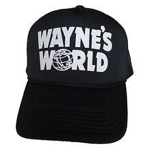 Wayne's World Trucker Hat Waynes Halloween Costume snapback Mesh Caps adjustable