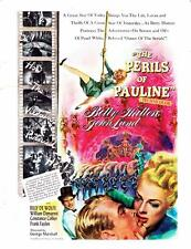 1948 Movie ad The Perils of Pauline Betty Hutton John Lund