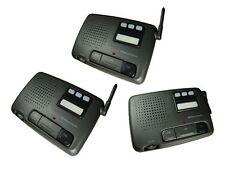 3 Channel FM Digital Genuine Wireless Office Home Security Garden Intercom Set